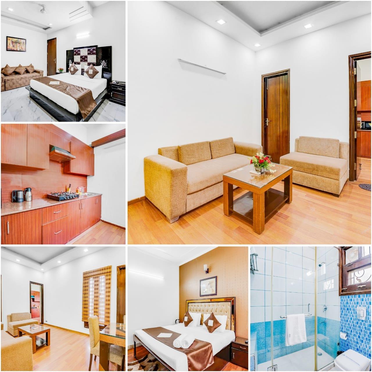 Serviced Apartment Near M Block Market Greater Kailash